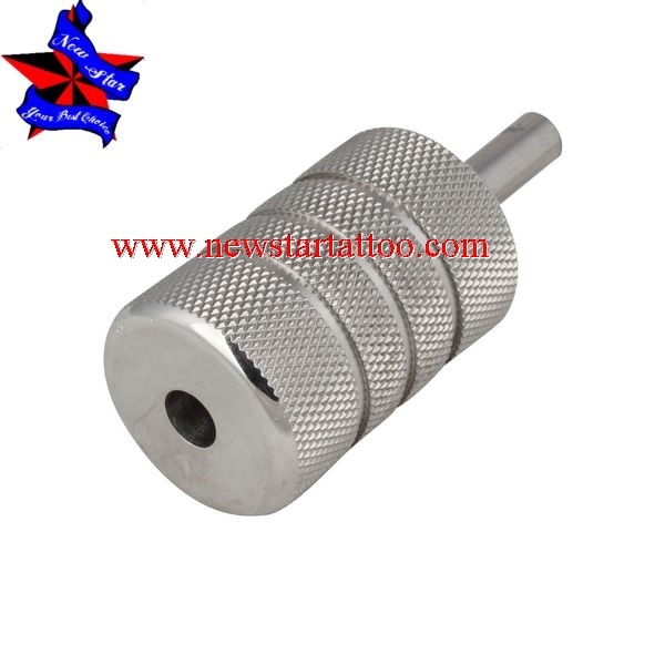 stainless steel tattoo grips