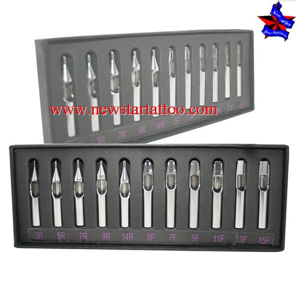 304 stainless steel tattoo tip set