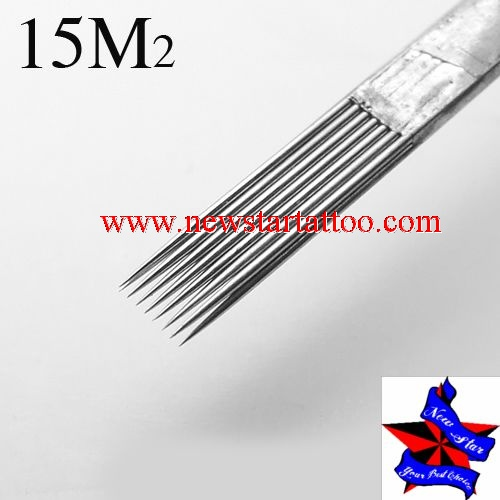 Pre-made Sterile Tattoo Needles Stack magnum needle