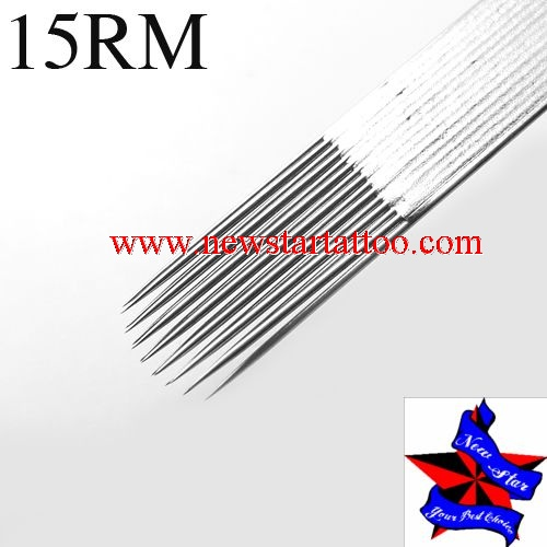Pre-made Sterile Tattoo Needles Curved magnum needle