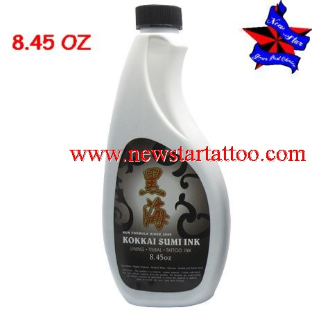 Kokkai Sumi Tattoo Ink 8.45oz