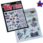 Tattoo flash book