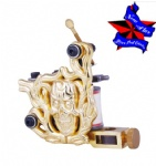 Engraved tattoo machine