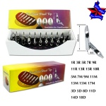 304 stainless steel tattoo tip set(two holes)