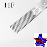 Pre-made Sterile Tattoo Needles Flat needle