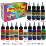 intenze tattoo ink( 14colors)